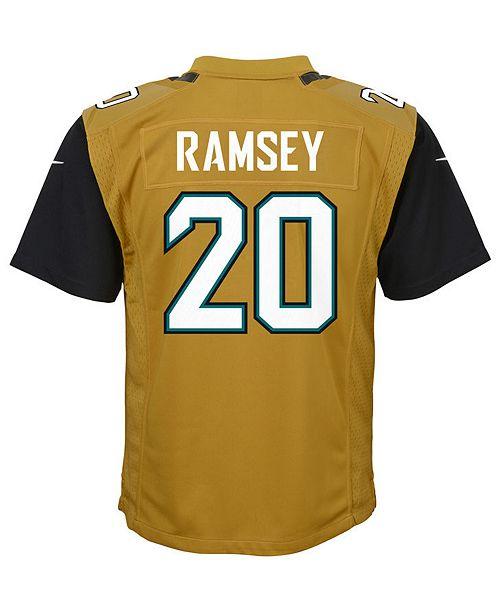 premium selection b8157 0e62d Nike Jalen Ramsey Jacksonville Jaguars Color Rush Jersey ...