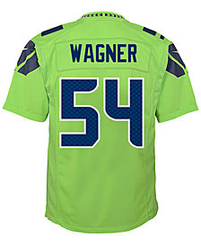 Nike Bobby Wagner Seattle Seahawks Color Rush Jersey, Big Boys (8-20)