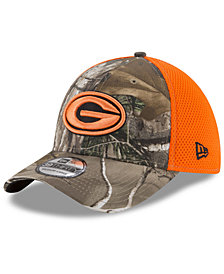 New Era Green Bay Packers Realtree Hunter Neo 39THIRTY Cap