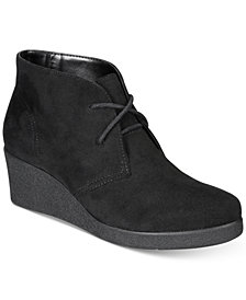 Style & Co Jerardy Wedge Ankle Booties, Created for Macy's