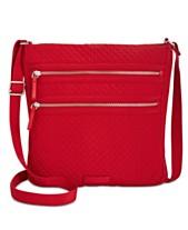 cbdaa20c6a28 Vera Bradley Messenger Bags and Crossbody Bags - Macy s