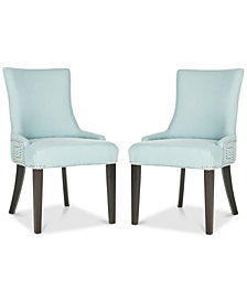 Mantell Dining Chairs With Nailhead Trim (Set Of 2), Quick Ship