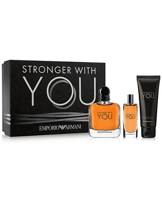 Emporio Armani 3 Pc Stronger With You Gift Set Amp Reviews