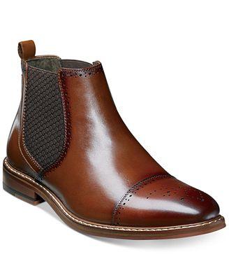 Stacy Adams Men S Alomar Cap Toe Chelsea Boots All Men S Shoes