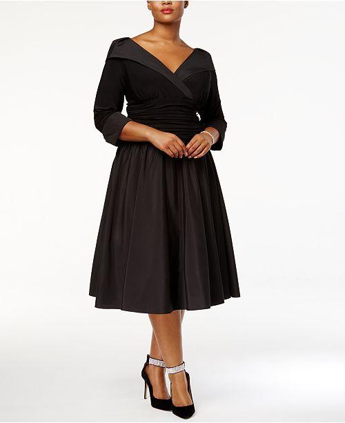 de taille de grande Jessica femmesnoir en portrait col HowardRobe asymetrique avec robes et tQsrdxhC