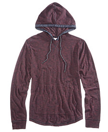 Univibe Men's Brook Slub End On End Hoodie