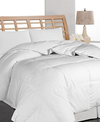 Blue Ridge Elle White Twin Down Comforter
