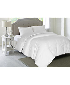 Blue Ridge Elle 1200-Thread Count Cotton Queen White Down Comforter