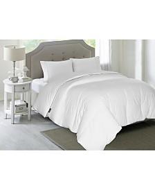 Blue Ridge Elle 1200-Thread Count Cotton Queen White Down Comforter