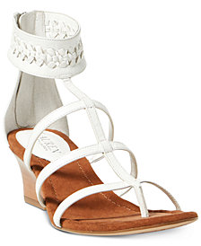 Lauren Ralph Laurne Meira Wedge Sandals
