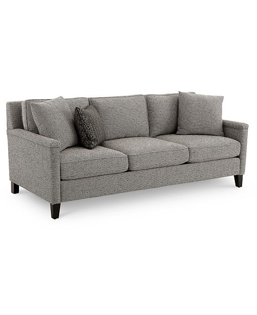 "Furniture CLOSEOUT! Brittna 81"" Fabric Sofa, Created for Macy's"