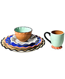 Coton Colors Mid Century Mix Dinnerware Collection