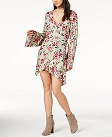 MINKPINK Femme Flora Wrap Dress