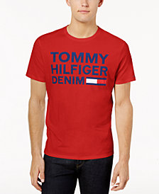 Tommy Hilfiger Denim Men's Graphic-Print T-Shirt