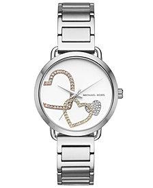 Michael Kors Women's Portia Stainless Steel Bracelet Watch 37mm