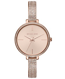 Women's Jaryn Rose Gold-Tone Stainless Steel Bracelet Watch 36mm