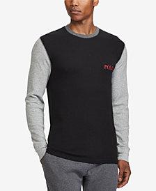 Polo Ralph Lauren Men's Big & Tall Waffle-Knit Thermal Shirt