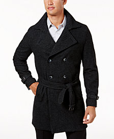 I.N.C. Men's Double-Breasted Trench Coat, Created for Macy's