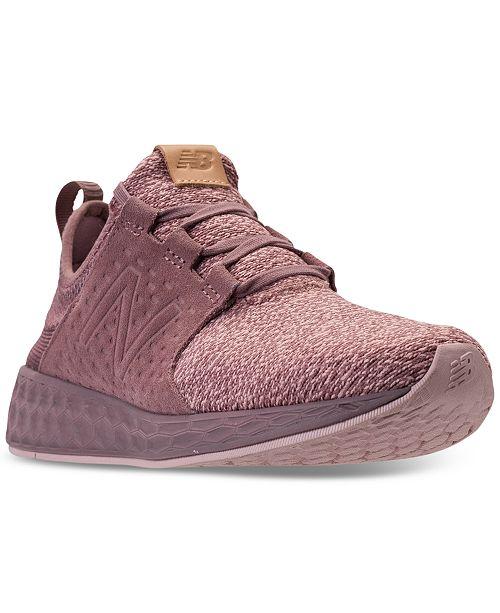 bf2b34c7143 ... New Balance Women s Fresh Foam Cruz Casual Sneakers from Finish ...