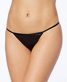 Calvin Klein Sleek Model G-String Thong D3509