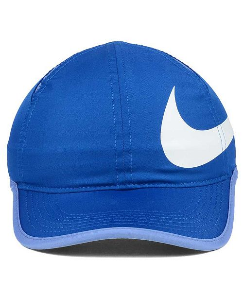Nike Girls  Featherlight Swoosh Cap - Sports Fan Shop By Lids - Men - Macy s 6508ba47d599