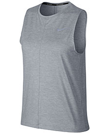 Nike Dry Element Cropped Tank Top