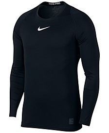 Men's Pro Fitted Long Sleeve Training Shirt