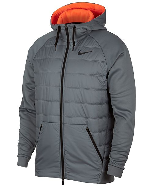 458e66b5f69e Nike Men s Therma Hooded Training Jacket   Reviews - Coats ...