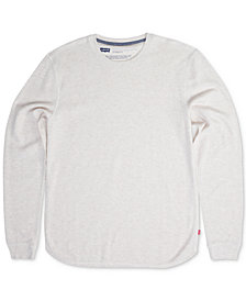 Levi's® Men's Sadler Waffle-Knit Thermal Sweatshirt