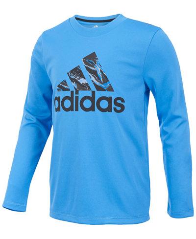 adidas ClimaLite® Logo Graphic-Print Shirt, Toddler Boys