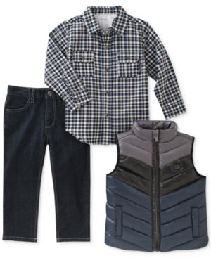 Calvin Klein 3-Pc. Vest,...