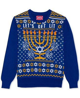 Hybrid Men's Hanukkah Sweater
