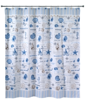 Avanti Island View Shower Curtain Bedding