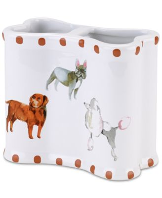 Dogs on Parade Toothbrush Holder