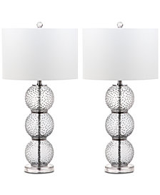 Safavieh Port Robert Set of 2 Table Lamps