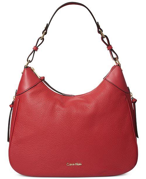 40ceb587dd Calvin Klein Angelina Hobo   Reviews - Handbags   Accessories ...
