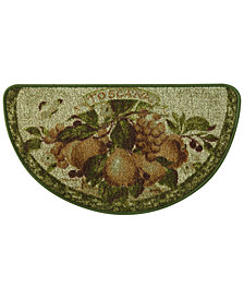 "Bacova Toscana Berber 18.0"" x 31.5"" Slice Kitchen Rug"