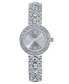 Charter Club Women's Silver-Tone Bracelet Watch 25mm, Created for Macy's