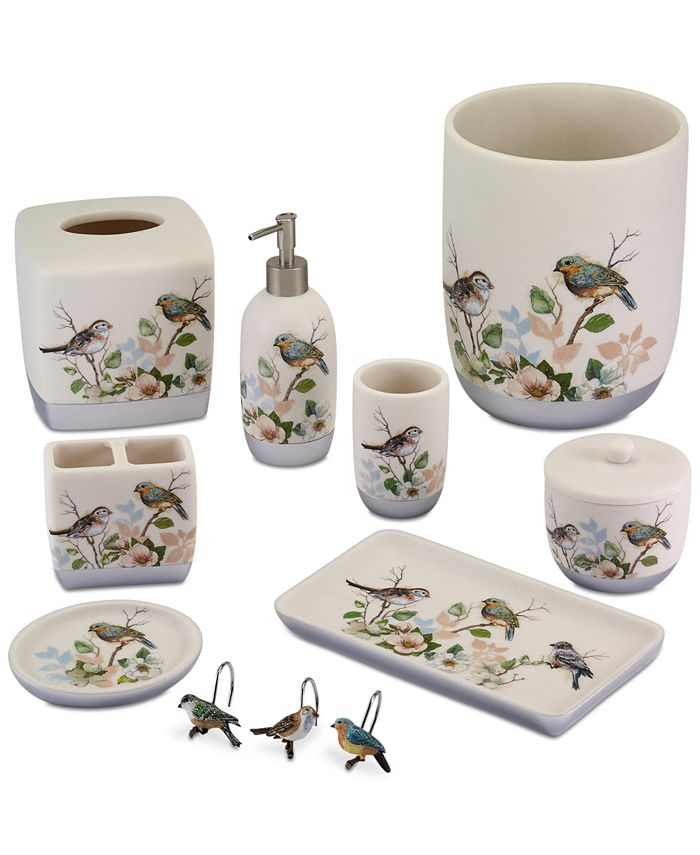 Avanti Love Nest Bath Accessories, Avanti Bathroom Sets