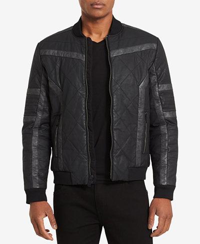 Calvin Klein Jeans Men's Gasoline Racer Jacket
