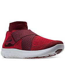 Nike Men's Free Run Motion Flyknit 2017 Running Sneakers from Finish Line