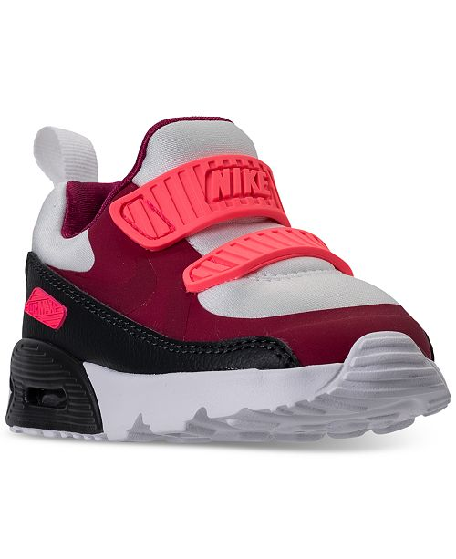 f9455520c7 Nike Little Girls' Air Max Tiny 90 Running Sneakers from Finish Line ...
