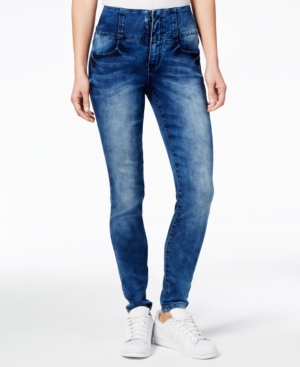 Rampage Juniors Wes HighRise Super Skinny Jeans