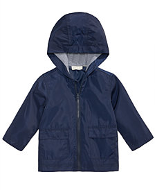 First Impressions Hooded Windbreaker, Baby Boys, Created for Macy's