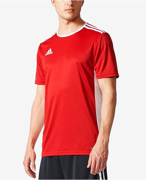 1b5b32b28 adidas Men's Entrada ClimaLite® Soccer Shirt; adidas Men's Entrada  ClimaLite® ...