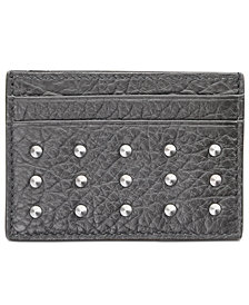 Hugo Boss Men's Leather Studded Passcase