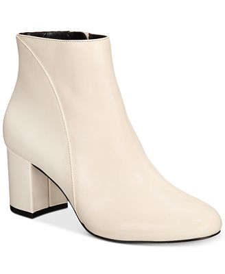 INC International Concepts Floriann Block-Heel Ankle Booties, Created for Macy's