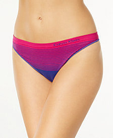 Calvin Klein Illusions Seamless Thong QD3547