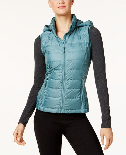 32e847282651 32 Degrees Hooded Packable Down Puffer Vest