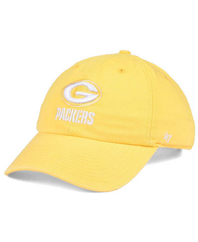 '47 Brand Women's Green Bay Packers Pastel CLEAN UP Cap